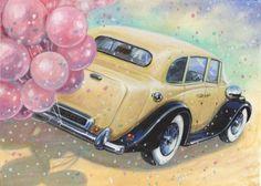 Jim  Mitchell - Wedding car.JPG