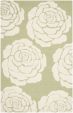 Safavieh Cambridge Contemporary Indoor Area Rug Lime / Ivory