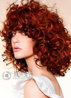red gold hair....so pretty...