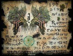 Cthulhu LARP Migo Incantations Necronomicon Lovecraft Monsters Aliens Magick | eBay