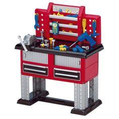 Brinquedo American Plastic Toy 37 Piece Deluxe Workbench #Brinquedo American Plastic