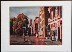 775,- Oudegracht - Marcel Schellekens   Kunstuitleen Utrecht