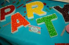 Rainbows and Sparkles Birthday Party Ideas | Photo 9 of 27 | Catch My Party