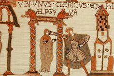 The Bayeux Tapestry Museum in Bayeux, Basse-Normandie, France.  Eleventh century CE.