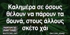 Greek Quotes, Laugh Out Loud, Life Is Good, Jokes, Smile, Humor, Funny, Husky Jokes, Humour