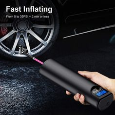 Rechargeable Air Pump Tire Inflator Cordless Portable Compressor Digital Car Tyre Pump for Car Bicycle Tires Balls Cordless Air Compressor, Portable Air Compressor, Motorcycle Tires, Bicycle Tires, Bicycle Shop, Wooden Bicycle, Bicycle Decor, Bicycle Basket, Shopping