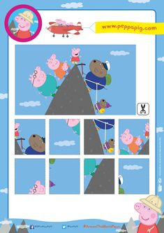 Find this and more oinktastic printable activity sheets on the Peppa Pig website! Quiet Time Activities, Toddler Activities, Peppa Pig Printables, Peppa Pig Teddy, Activity Sheets, First Birthday Parties, Pig Birthday, Preschool Activities, Teaching Kids