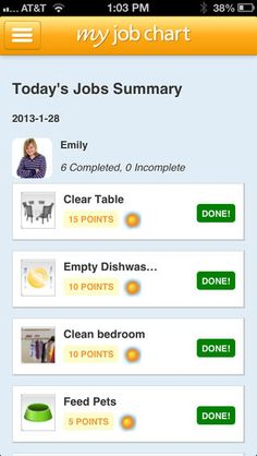 My Job Chart ($0.00) easy to use, online chore chart and reward system for organizing and motivating your kids to learn first hand how to Save, Share and Spend responsibly. Reviewed by @bridgingapps here http://bridgingapps.org/2014/07/bridgingapps-reviewed-app-job-chart/
