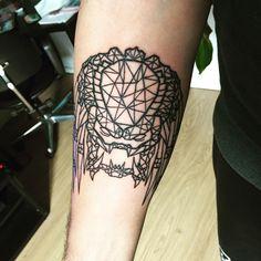 Fresh Predator tattoo