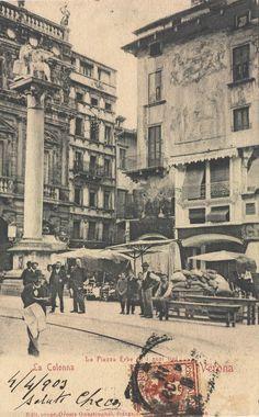 Verona -  Il giornalaio conosciuto come ^ el gasetin ^- 1903