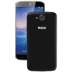 "RCA RLTP5567-BLACK 5.5"" Android(TM) Quad-Core Smartphone (Black)"