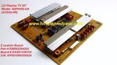 LG Plasma 50PK950-UA. Z sustain Board: EBR62294202, EAX61326702 / Important News #LG
