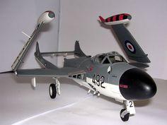 de Havilland Sea Venom FAW.22 Diecast Models, Viper, Venom, Planes, Fighter Jets, Roman, Aircraft, British, War