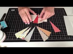 Starburst Card Assembly Instructions - YouTube