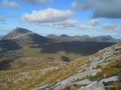 Hillwalking In County Donegal - Mount Errigal and the Seven Sisters Irish Landscape, Ireland Landscape, Hill Walking, Walk The Earth, Grey Skies, Donegal, Heaven On Earth, Outdoor Spaces, Scotland