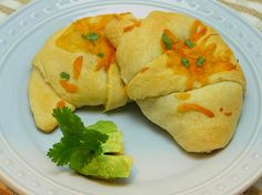 Taco stuffed crescent rolls-fast and easy