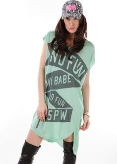 Oversize Shirt mint: 5 PREVIEW