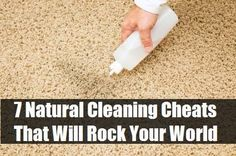 7 Natural Cleaning Cheats