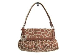 #FENDI Shoulder Bag Giraffe Pattern Nylon/Leather Brown 8BR445 (BF114375) All of #eLADY's items are inspected carefully by expert authenticators who have years of experience. For more pre-owned luxury brand items, visit http://global.elady.com
