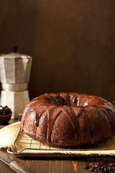Chocolate Mocha Pumpkin Bundt Cake
