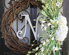 Wreaths Arrangements & Home Decor by UpStageYourPlace on Etsy