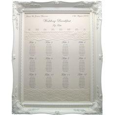 wedding table plan ideas - Google Search