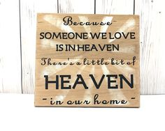 Sympathy Gifts Memorial Plaque Sympathy by AllTogetherwithLove