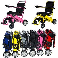 FOLD-N-GO Power Wheelchair