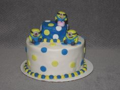 Minions birthday cake, from Despicable Me