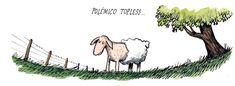 Ricardo Siri Liniers, Desde 2001 dibuja esta serie de cómics bajo el título de Macanudo. En ella, diversos personajes plantean reflexiones filosóficas, políticas, creativas y cotidianas.