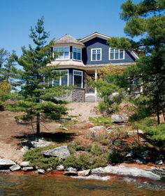 Lakeside Retreat in Muskoka.