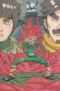LeeTen is canon — animecontinuum: Naruto - ナルト- Illustration...