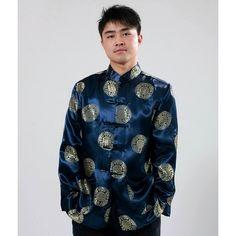 Men's Prosperity Icon Jacket (Blue)