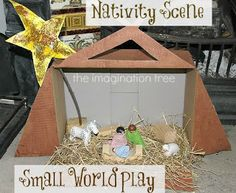 Focus on the Nativity: Celebrating the Christmas Message with Kids! - The Imagination Tree