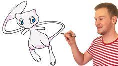 How to Draw Mew (Pokemon)