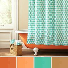 Bathroom terracotta: Colour / color palette inspiration.
