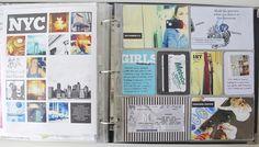 Project Life Travel Layout  by Designeditor.typepad.com