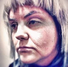 Old age makeup sfx