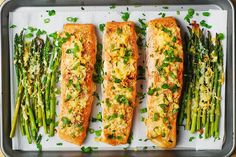 Garlic Parmesan Crusted Salmon and Asparagus – the best way to cook salmon with just a few easy ingredients! Delicious, healthy dinner that is naturally gluten free! Roasting garlic + parmesan on top of salmon and asparagus results in a nice flavorful crust: Here is how easy it is to cook salmon: First, coat the...Read More