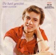 Eine Single Schallplatte von Kurti Elsasser, kurz vor seinem Stimmbruch.