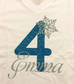 Frozen Birthday Shirt Frozen Birthday Shirt, Frozen Birthday Theme, 2nd Birthday Shirt, Elsa Birthday, Frozen Theme, Twin Birthday, 4th Birthday Parties, Frozen Party, Birthday Fun