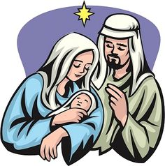 mary and joseph in the stable graphic clipart free clip art images rh pinterest com mary joseph and baby jesus clipart mary joseph and baby jesus clipart free