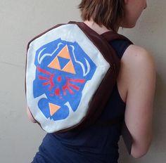 Legend of Zelda: Ocarina of Time Hylian Shield Backpack