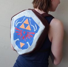 Legend of Zelda: Ocarina of Time Hylian Shield Backpack