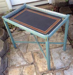 Side table chalk board top