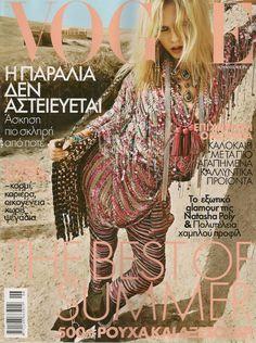 Natasha Poly by Inez & Vinoodh Vogue Hellas  June 2010