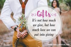 Gifts are one of the things which are loved by all human beings. This indulges everyone to get a fresh feeling and enjoy with the dear ones who desires only your #love and care...