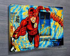 Comic Book Canvas Art