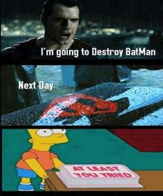 Told you. No one can beat batman. Not even u Clark