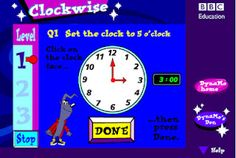 @Virginia Kraljevic Hines - for Henry. technology rocks. seriously.: Tick Tock- TIME! Lots of online games for teaching time.